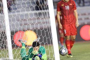 Clip: Cận cảnh sai lầm của Bùi Tiến Dũng dẫn đến bàn thua của U22 Việt Nam