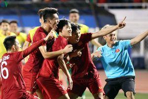 Hoàng Đức ghi siêu phẩm, U22 Việt Nam thắng nghẹt thở U22 Indonesia