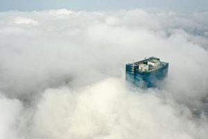 Không khí ở Hà Nội trong lành sáng đầu tuần