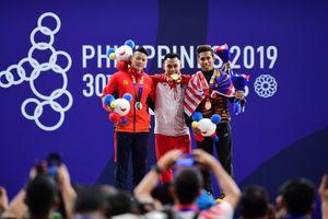 Thạch Kim Tuấn không thể vượt qua nhà vô địch Asian Games Eko Yuli Irawan