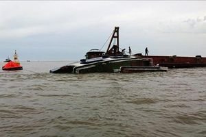 Xác định danh tính các nạn nhân mất tích trong vụ chìm tàu ở Hải Phòng