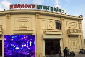 37 đối tượng sử dụng ma túy trong quán karaoke