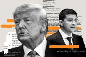 Ủy ban Tình báo Hoa Kỳ xem xét báo cáo luận tội đối với Tổng thống Trump và Ukraine