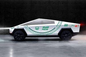 Bộ siêu xe tuần tra của cảnh sát Dubai sắp có thêm xe điện kỳ dị