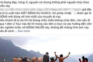 Nhóm thanh niên đi phượt ngang nhiên tụt quần rồi chụp ảnh phản cảm ở Hà Giang khiến dư luận phẫn nộ