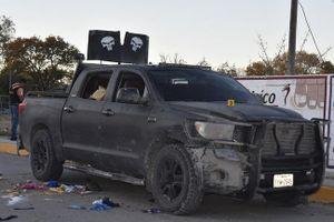 21 người chết trong vụ đấu súng giữa cảnh sát Mexico và tội phạm ma túy