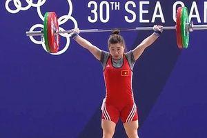 Ngày thi đấu chính thức thứ 3 SEA Games 30: Đè bẹp đối thủ, Cử tạ rinh HCV thứ 2 cho Đoàn Việt Nam