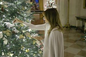 Đệ nhất phu nhân nước Mỹ Melania Trump trang hoàng Nhà Trắng đón Giáng sinh 2019