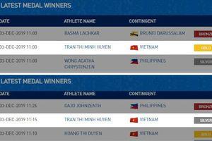 Chủ nhà SEA Games 'trừ' 1 HCV của Việt Nam vì sai sót