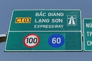 Đề xuất mở cửa cao tốc Bắc Giang - Lạng Sơn cho dân đi thử