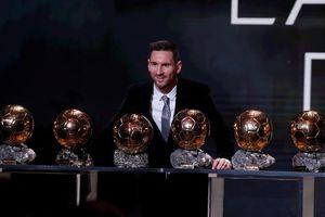 'Messi nên có nhiều hơn Ronaldo 10 Quả bóng Vàng'