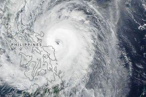 Bão Kammuri đổ bộ Philippines với sức gió 160 km/h