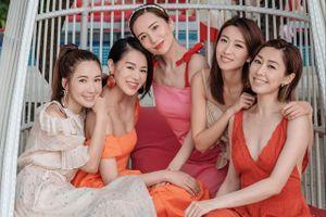 Nhóm bạn thân toàn người đẹp nổi tiếng TVB của Hồ Hạnh Nhi