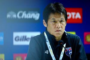 HLV Nishino theo dõi trận U22 Việt Nam gặp Singapore