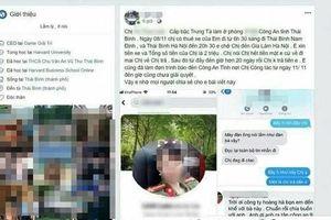 Xác minh vụ nữ trung tá công an Thái Bình bị tố 'quỵt' 2 triệu đồng tiền taxi