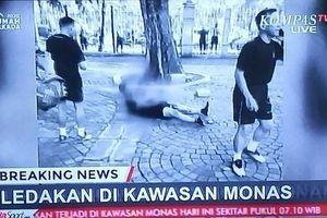 Nổ ngay trung tâm Jakarta, 2 sĩ quan quân đội bị thương