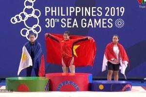 Wushu, cử tạ giành 'cơn mưa vàng' trong ngày thi đấu thứ 3