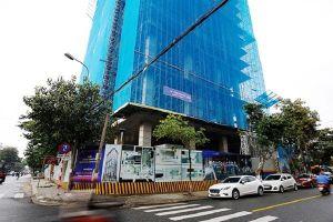 Nam công nhân rơi từ công trình căn hộ khách sạn tử vong ở Đà Nẵng
