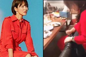Song Hye Kyo bất ngờ biến thành 'ô sin' trong cuộc vui của hội chị em