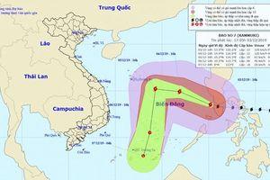 Bão Kammuri đi vào biển Đông thành cơn bão số 7, gió mạnh giật cấp 16