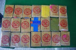 Người dân Thừa Thiên - Huế nhặt được 21 bánh heroin