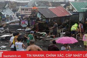 Nhà cửa ở Philippines tan hoang sau bão Kammuri