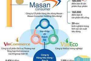 Các thông số của Masan, VinCommerce và VinEco trước khi sáp nhập