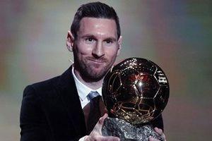 Messi đoạt Quả bóng vàng thứ 6 trong sự nghiệp