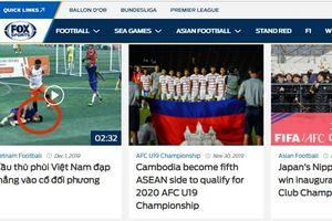 Đá xấu rồi giẫm lên mặt khiến cầu thủ đối phương lên cơn co giật, bóng đá phong trào Việt Nam lên báo nước ngoài