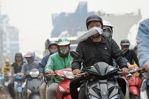Không khí Hà Nội vẫn xấu, TP.HCM trong lành sáng nay