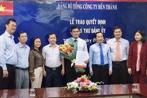 Đồng chí Hoàng Tâm Hòa làm Phó Bí thư Đảng ủy Tổng Công ty Bến Thành