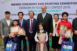 Công bố thí sinh đoạt giải Cuộc thi vẽ Đan Mạch trong mắt em 2019