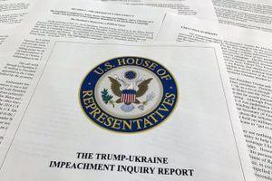 Hạ viện Mỹ công bố báo cáo chứng cứ luận tội Tổng thống Trump