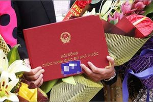 Sau lùm xùm về xét giáo sư, chính thức công nhận 73 giáo sư và 349 phó giáo sư