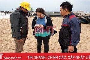 Khảo sát, đánh giá môi trường liên quan đến sự cố tàu Thái Lan bị chìm ở cảng Sơn Dương
