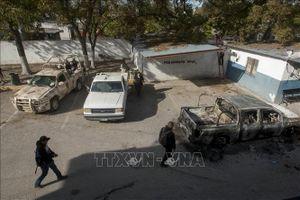 Mexico bắt 10 nghi phạm liên quan vụ đấu súng gần biên giới Mỹ