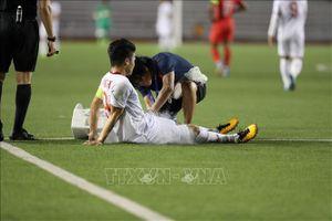 Quang Hải bị rách cơ đùi trái, lỡ trận gặp U22 Thái Lan