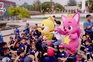 Bộ đôi '4 tỷ views' Pinkfong và Baby Shark lần đầu tới Việt Nam