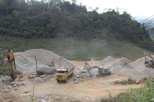 Bát nháo khai thác đá rút ruột tài nguyên ở Sơn La