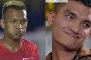 Lộ diện 'anh em thất lạc' của diễn viên Mạc Văn Khoa sau trận đấu giữa U22 Việt Nam và Singapore