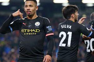 Thắng đậm Burnley, Man City tạm lên ngôi nhì bảng Premier League