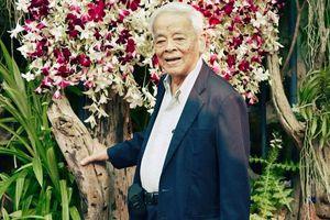 Giáo sư Rapee Sagarik - Từ cậu bé không đủ ăn đến 'Cha đẻ của hoa lan Thái Lan'