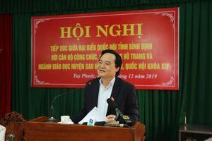 Bộ trưởng Phùng Xuân Nhạ: Đơn vị nào chọn sách giáo khoa cũng phải đảm bảo chọn bộ sách tốt nhất