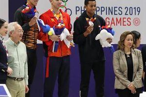Kình ngư Olympic Huy Hoàng phá kỷ lục SEA Games