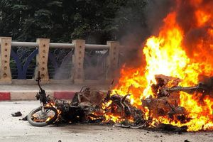 Khởi tố vụ nữ tài xế Mercedes gây tai nạn chết người, 5 phương tiện cháy rụi