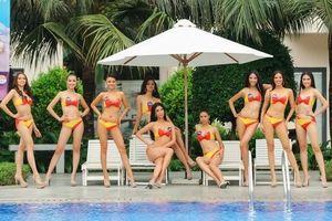 Top 45 Hoa hậu Hoàn vũ Việt Nam khoe dáng trong phần thi 'Người đẹp biển'