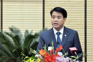 Hôm nay Chủ tịch Hà Nội Nguyễn Đức Chung sẽ trả lời chất vấn trước HĐND Thành phố