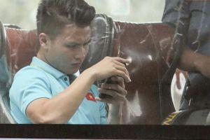 Chấn thương rách cơ đùi, Quang Hải vẫn xin 'ra sân' cùng đồng đội ở trận gặp Thái Lan