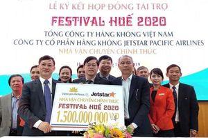 Vietnam Airlines và Jetstar là Nhà Vận chuyển chính thức tại Festival Huế 2020