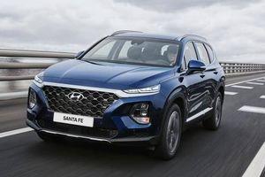 Hyundai SantaFe 2020 thêm nhiều trang bị hấp dẫn, giá chỉ từ 673 triệu đồng